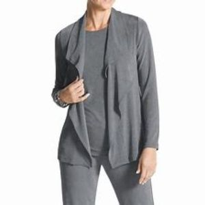 Chico's Travelers Gray Jacket